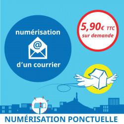 Adresse postale en France - Numérisation ponctuelle d'un courrier
