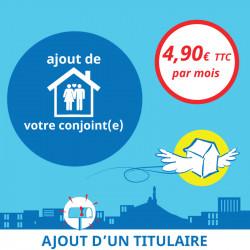 Adresse postale en France - Ajout d'un titulaire à votre boîte postale