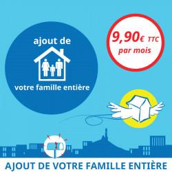 Adresse postale en France - Ajout de tous les membres du foyer