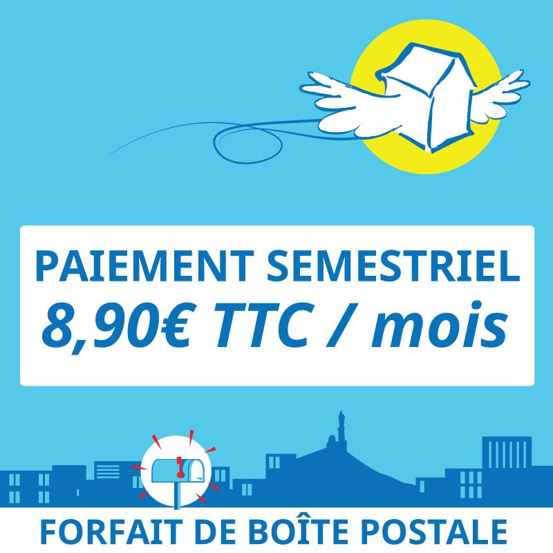 Adresse postale en France - 6 mois de boîte postale à Marseille 7